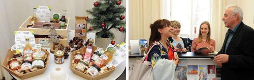 Kulinarische Weihnachtsgeschenke aus der Region